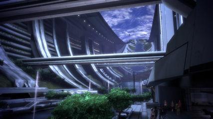 Mass Effect : les décors