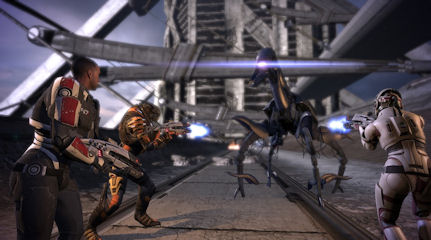 Mass Effect : les combats