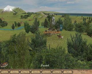 Mount and Blade : la carte