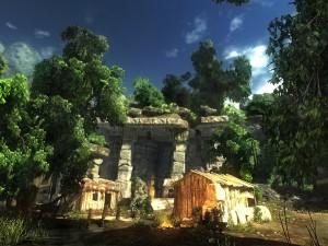 Risen, un temple