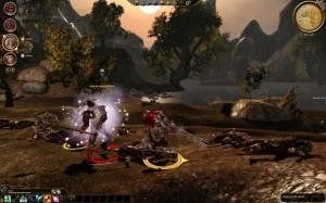 Dragon Age combat extérieur