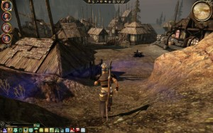 Dragon Age village