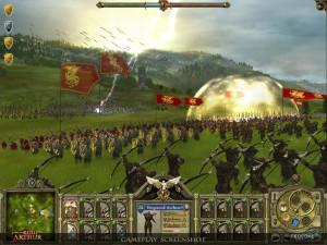 King Arthur - une bataille
