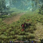 Arcania combat dans la jungle